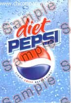 Pepsi Diet Fountain Strip Large