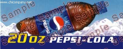 HVV Flavor Strip Pepsi 20oz Bottle
