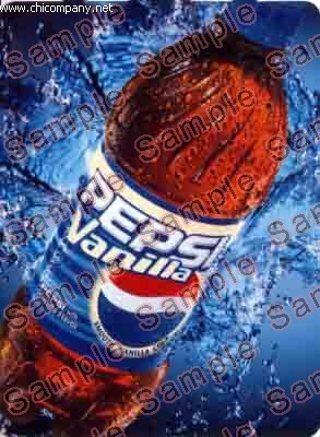 HVV Flavor Strip Pepsi Vanilla 20oz Bottle