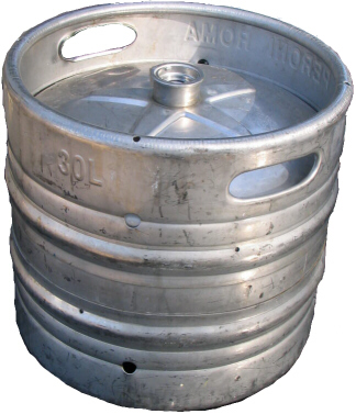 "1/4 Barrel ""Pony Keg"" - Barrel sided"