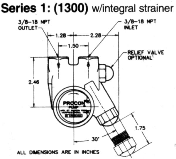 Procon Pump Series 1 1300 Procon Pump Series 1 The