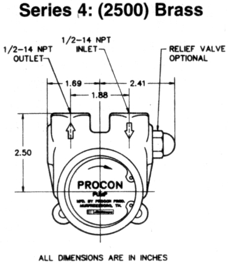 Procon Pump Series 5 (2600)