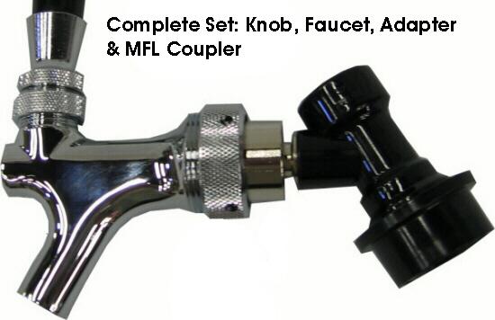 QD Faucet Adaptor for Perlick Faucets [QD-Fct-AdapterPRLK-17C13100PL ...