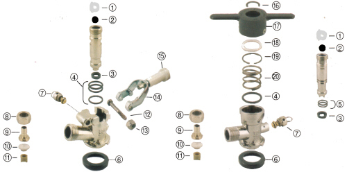 Abeco Keg Tap Parts [KegTapParts - Abeco] : The CHI Company, New and ...