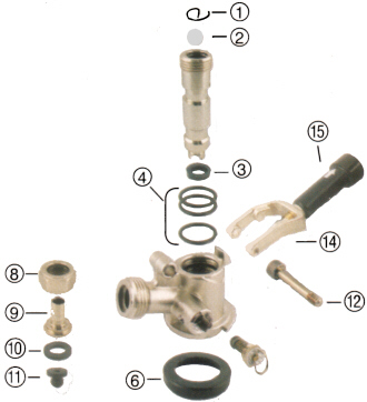 Perlick Keg Tap Parts