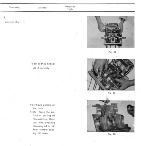 Picture of Shop Manual page