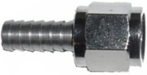 "Swivel Nut Set - 1/4"" flare nut x 1/4"" barb"