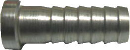 "Swivel Nut Set 1/4"" flare nut 1/4"" barb"