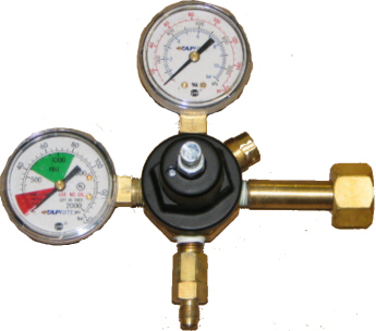 TapRite Primary Regulator - no cage - Screw Adjust