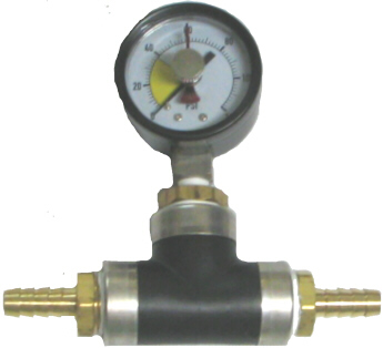 Water Pressure Gauge - Plastic Base