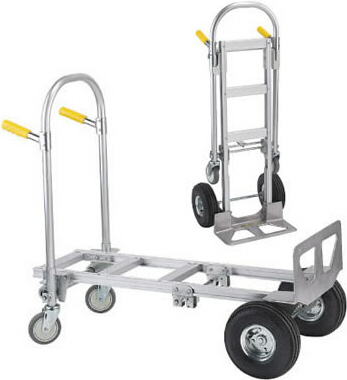 WesCo Spartan Jr. Aluminum 2-in-1