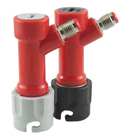 "QD Pin Lock Gas in 1/2""-16 MFL"