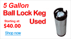 Ball Lock Keg - 5g - Used